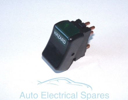 Hazard warning light switch 152SA replaces Lucas 39916
